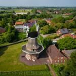 Luftbild der Nenndorfer Mühle