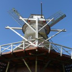 Mühle Klaashen, Schweindorf, Im Jahr 2016 stehen vor die Mitglieder des Mühlenvereins Arbeiten am Geländer der Galerie und dem Steert auf dem Programm.