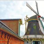 Die Seriemer Mühle mit Teestube sowie die Gulfscheune links bilden ein Ensemble. Nach der Sanierung der Mühle soll jetzt nach einem Nutzungskonzept für die Scheune gesucht werden, so der Beschluss der Mitgliederversammlung. Bild: Klaus Händel
